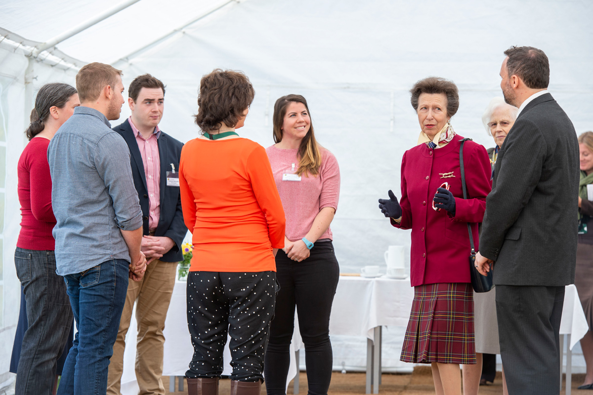 Princess Royal at North Wyke Credit: Rothamsted Research
