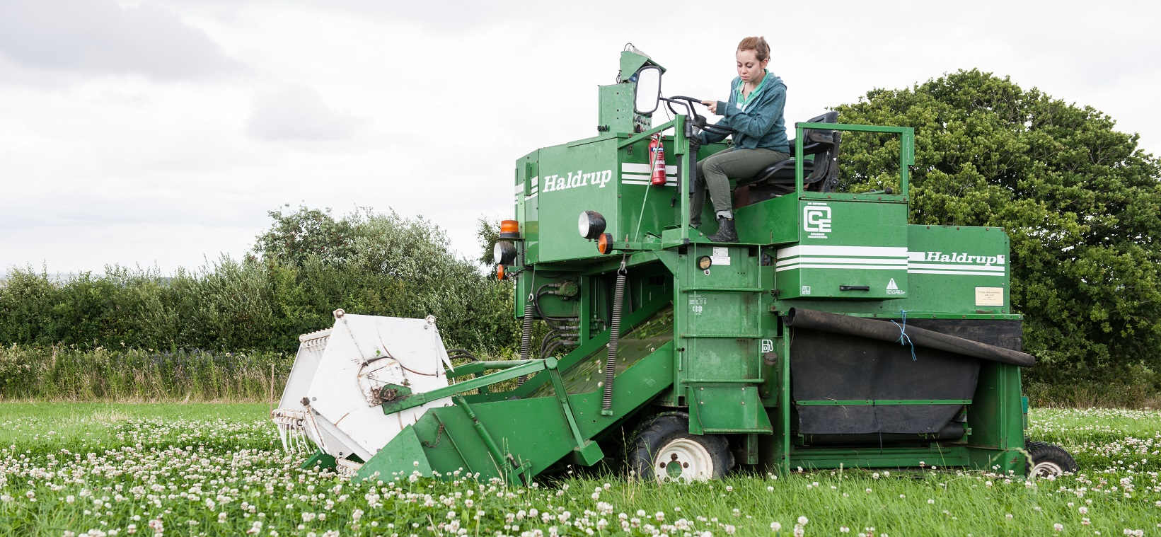 Plot Harvester - Copyright Rothamsted Research