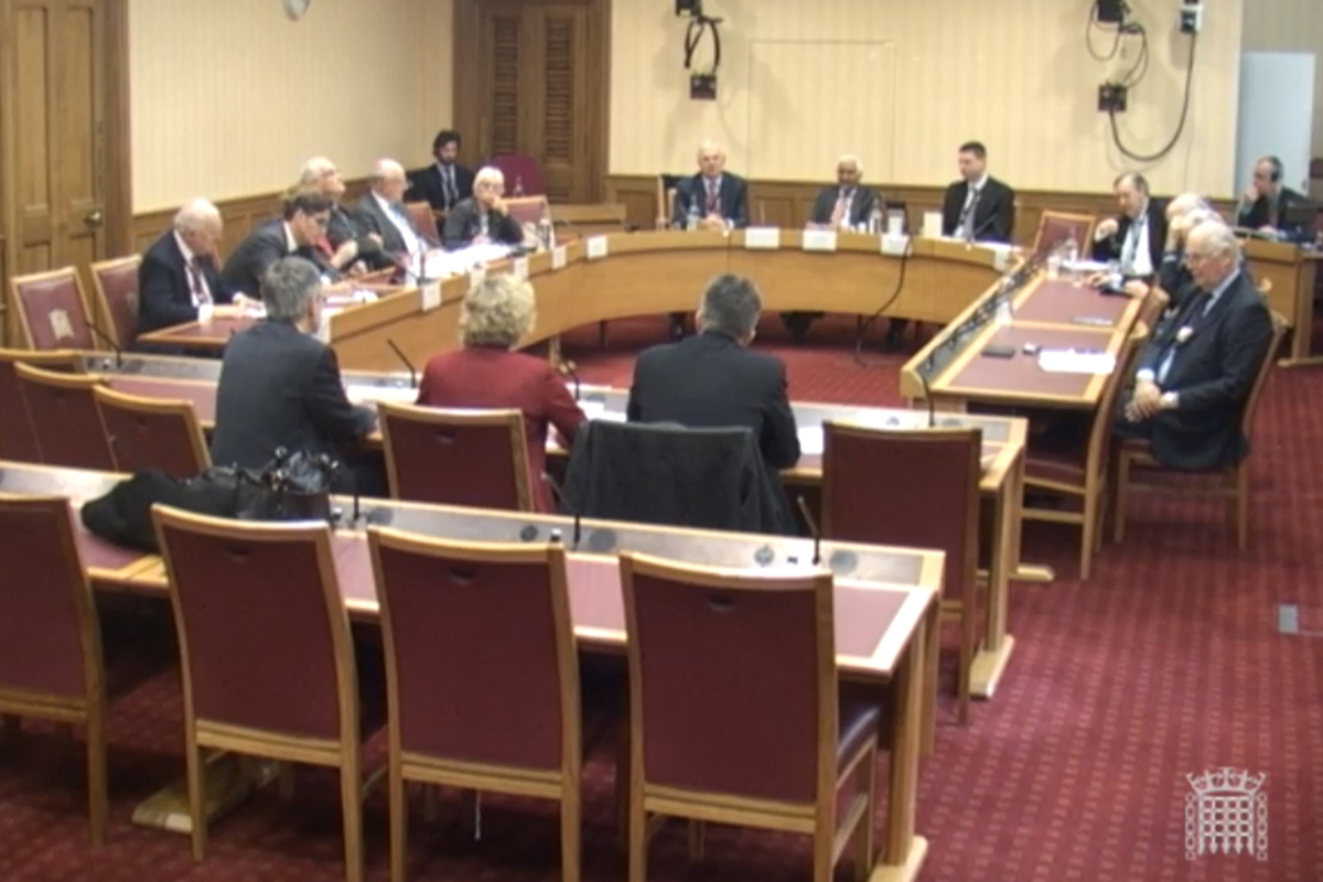 Select Committee November 2017