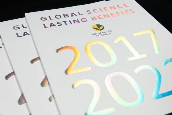 Rothamsted Science Strategy 2017-2022 - credit Rothamsted Research