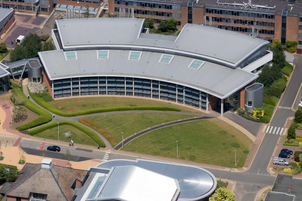 2015 aerial image of Rothamsted Research, Harpenden