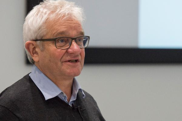 Sir Paul Nurse. Rothamsted Seminar Series, 18 Dec 2017. Credit: Rothamsted Research